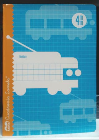 cuaderno Lamela 4º 4mm 30hoj 8412855202072