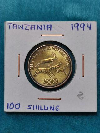 Tanzania 100 Shilling de 1994