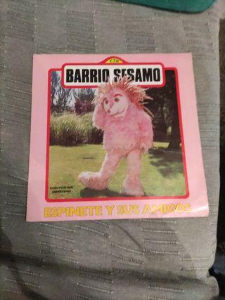 Disco de vinilo Barrio Sesamo