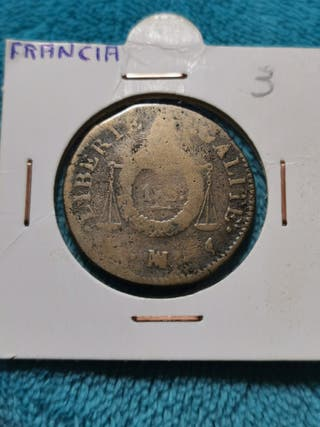 Francia 1 Sol 1790-1800