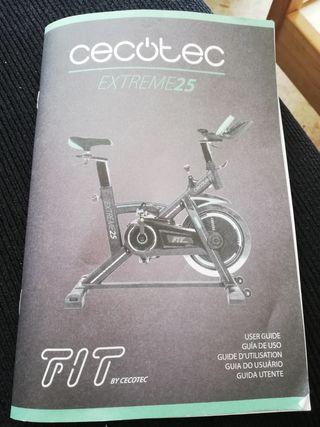 vendo bicicleta spinning con muy poco uso