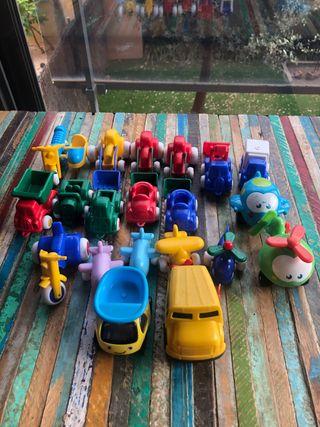 Set coches primera infancia