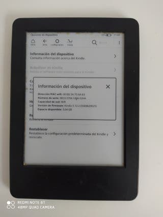 """Amazon Kindle 7th generación 4GB 6"""""""