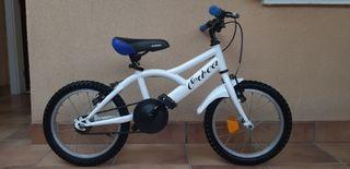 Bicicleta niño 14/16 pulgadas
