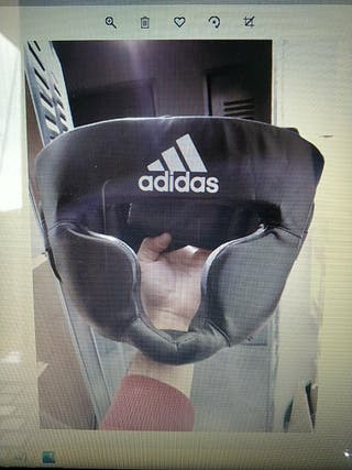 Casco integral de boxeo Adidas