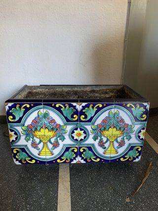 Maceteros- Jardinera cerámica