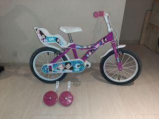 """bicicleta de niña 16"""""""