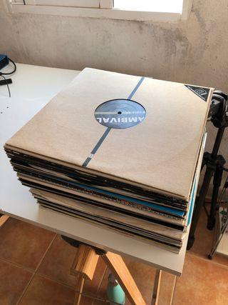 Lote 68 Vinilos Música Electronica