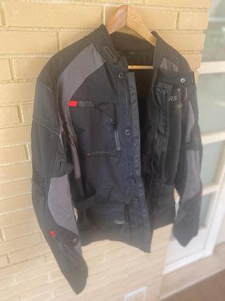 Chaqueta de moto Rainers y guantes TALLA L