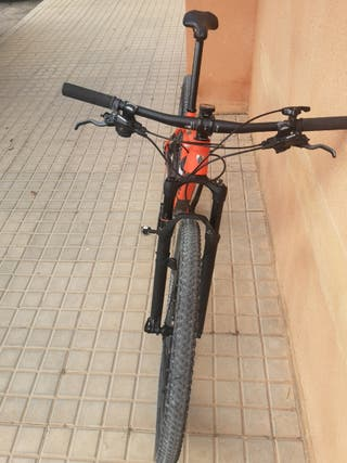 bicicleta treck pro caliber 9.6. año 2018
