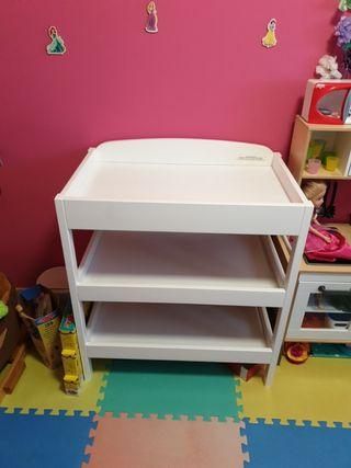 Mesa para cambiar bebé