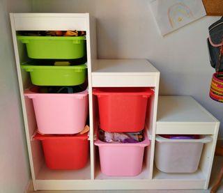Mueble almacenaje IKEA niños