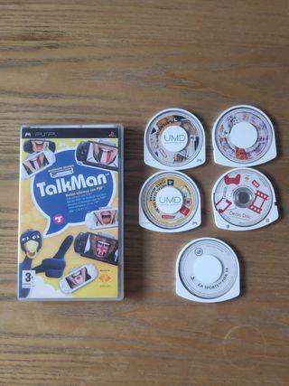 Pack juegos de PSP