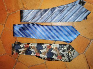 corbatas seda
