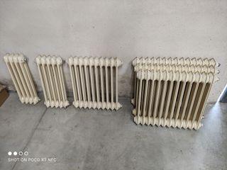 Radiadores de calefacción.
