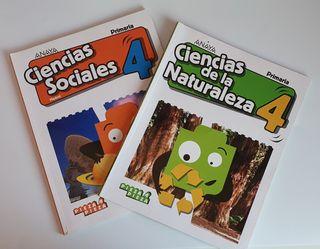 Libros de texto cuarto de primaria