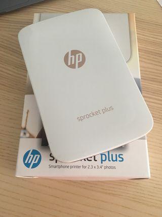 HP Impresora fotográfica portátil Sprocket Plus