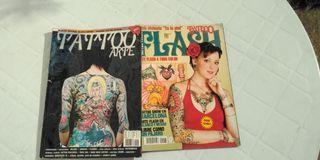 Revistas tatuajes surtidas