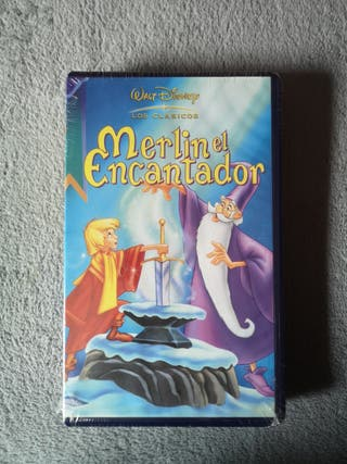 Merlin el encantador Vhs nuevo
