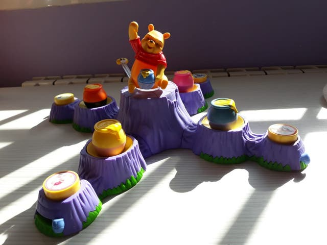 Juego Winnie Pooh