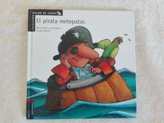 El pirata metepatas - Edelvives