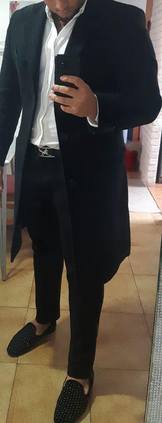 abrigo de hombre zara