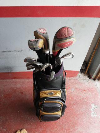 Juego palos de golf ZURDO Taylor Made