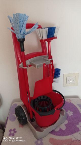 carrito auxiliar de juguete