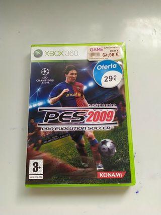 PES 2009 Xbox360
