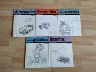 5 libros de dibujo