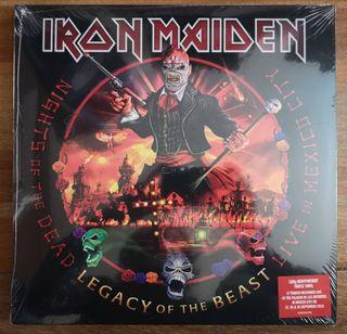 "Iron Maiden:""Legacy of the Beast México (3LP-Vinil"