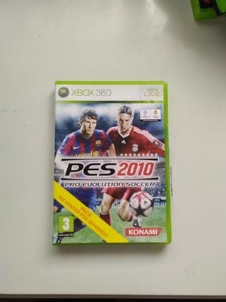 Pes 2010 Xbox 360