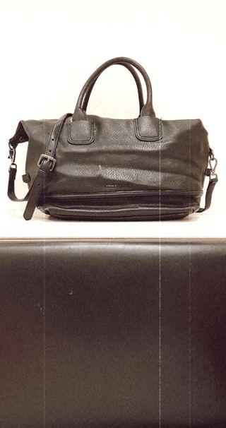 Armani Exchange Black leather Bag