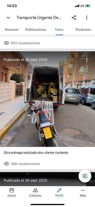 Transporte de motos nacional