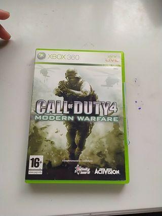 Call of Dutty 4 Modern Warfare xbox360