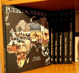 Pueblos de la tierra (11 libros)