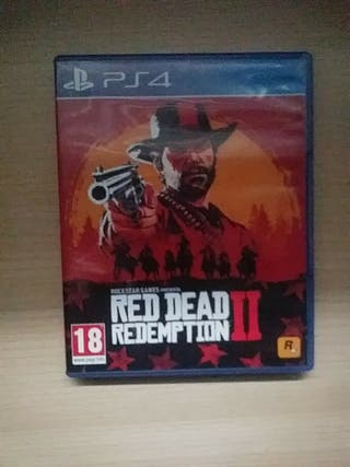 Read dead Redemption 2 en Ps4