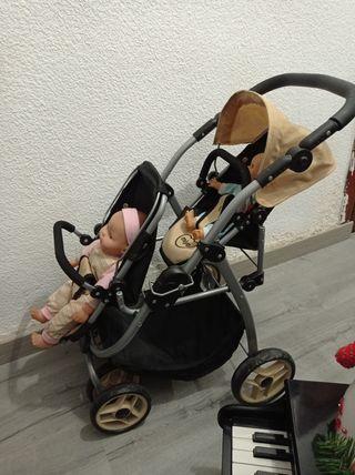 cochecito de muñecas