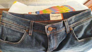 Pantalón vaquero elástico original.