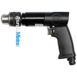 Taladro neumático reversible negro YT-09702