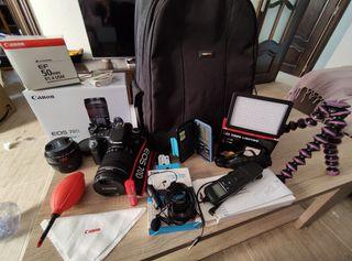Equipo de Foto-Vídeo Canon 70D