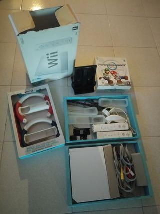Wii + 6 juegos