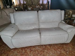 sofa de piel acepto oferta