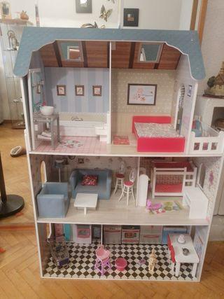 venta casa muñecas/barbie