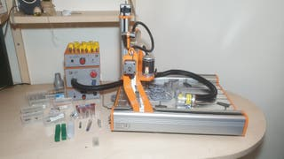 CNC Stepcraft 420 cortadora y grabadora