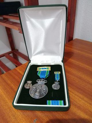 medalla Centenario Patrona Guardia Civil