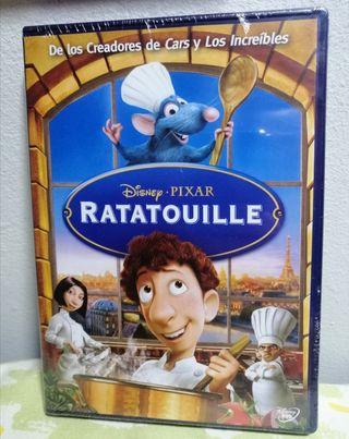 DVD Ratatouille Cine Familiar Nueva.
