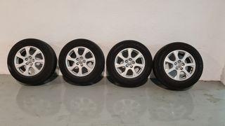 Llantas Audi Q5 con neumáticos