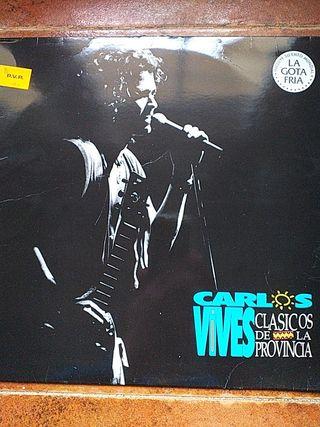 VINILO CARLOS VIVES - CLASICOS DE LA PROVINCIA (LP