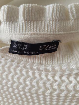 top blanco de Zara